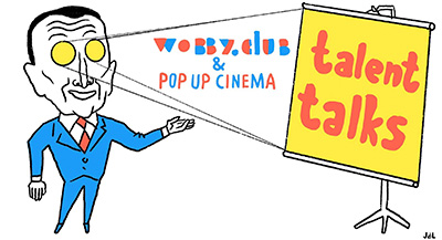 pop up cinema tilburg talent talks wobby club